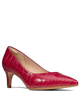 clarks-laina55-leather-mid-heel-court-shoe-fuchsia