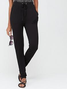 v-by-very-jersey-tapered-leg-trousers-black