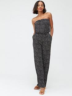 v-by-very-strapless-tie-waist-jumpsuit-spot-print