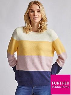 dorothy-perkins-stripe-jumper-multi