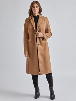 dorothy-perkins-fitted-coat-camel