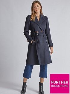 dorothy-perkins-dorothy-perkins-utility-wrap-coat-navy