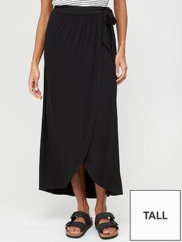 v-by-very-tall-wrap-jersey-maxi-skirt-black