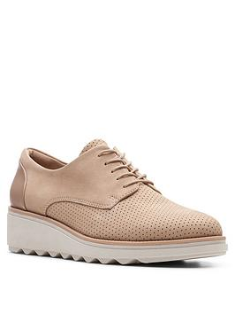 clarks-sharon-crystal-leather-wedge-trainernbsp-sand
