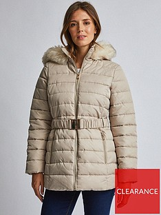 dorothy-perkins-dorothy-perkins-luxe-short-padded-jacket-beige