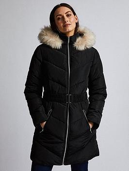 dorothy-perkins-dorothy-perkins-luxe-short-padded-jacket-black