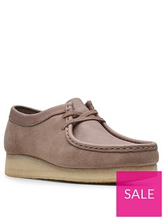 clarks-originals-wallabee-leather-flat-lace-up-shoe-mushroom