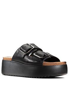 clarks-botanic-slide-leather-chunky-wedge-sandal-black