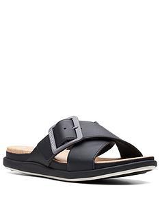 clarks-step-june-shell-flat-sandal-blacknbsp
