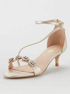 wallis-kitten-heel-embellished-sandals-gold