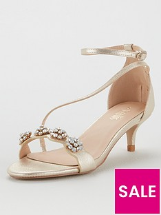 wallis-kitten-heel-embellished-sandals-gold