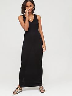 v-by-very-v-neck-jersey-maxi-dress-black
