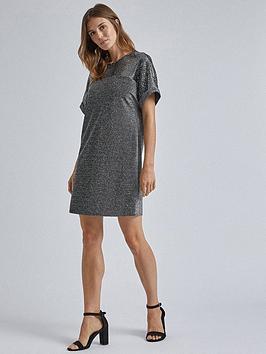 dorothy-perkins-dorothy-perkins-lurex-sequin-shift-dress-silver