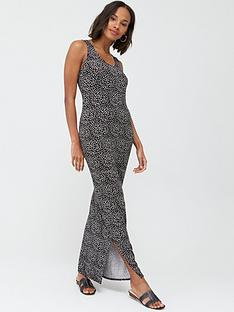 v-by-very-petite-petite-scoop-neck-jersey-maxi-dress-spot-print