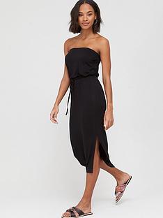 v-by-very-bardot-channel-waist-jersey-midi-dress-black