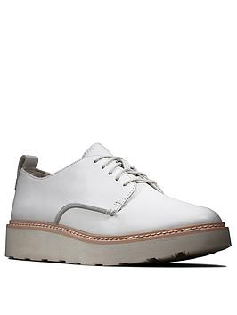 clarks-trace-walk-leather-wedge-trainers-white