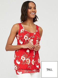 v-by-very-tall-scoop-neck-bubble-hem-vest-top-red