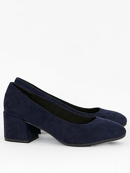 evans-wide-fit-firelli-block-microfibre-court-shoes-navy