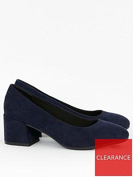 evans-wide-fit-firelli-block-microfibre-court-shoes-navy