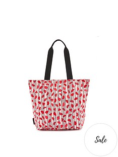 lulu-guinness-bea-lips-and-heart-stripe-nylon-tote-bag-pink