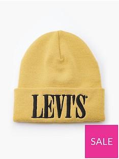 levis-serif-logo-beanie-yellow