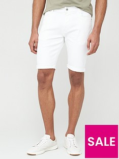 very-man-denim-shorts-white