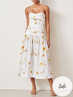 bec-bridge-colette-floral-print-midi-dress-white