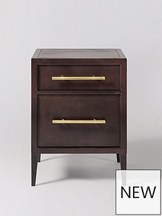 Swoon Ash Bedside Table