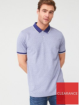 very-man-ditsy-tipped-collar-polo-shirt-blue