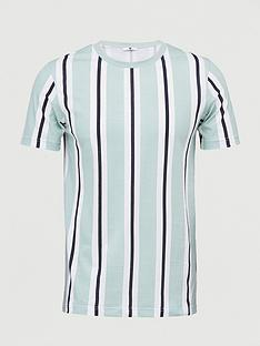 v-by-very-veritcal-stripe-t-shirt-green