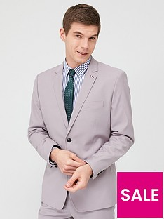 very-man-stretch-slim-suit-jacket-stone