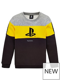 playstation-boys-playstation-panel-sweatshirt-multi