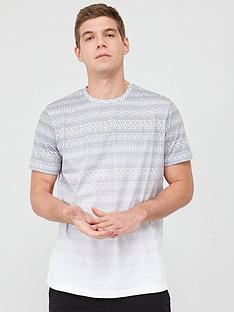 v-by-very-ombre-geo-tile-t-shirt-khakiwhite