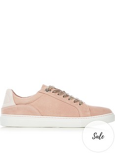 lulu-guinness-natasha-lips-suede-and-leather-trainersnbsp--pink