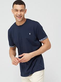 v-by-very-printed-beach-block-pocket-t-shirt-blue