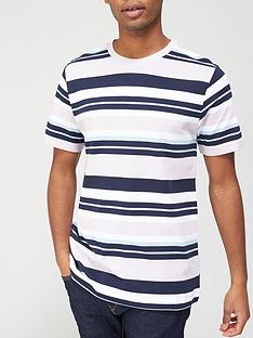 v-by-very-horizontal-stripe-pique-t-shirt-multi