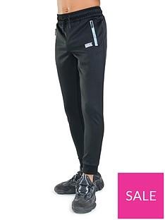 rascal-distorted-grid-jogger-pant-black
