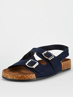 v-by-very-older-boys-footbed-sandal-navy