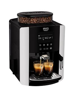 Krups Arabica Digital Ea817840 Espresso Bean To Cup Coffee Machine - Silver Best Price, Cheapest Prices
