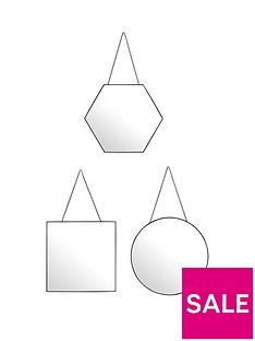set-of-3-harley-mirrors