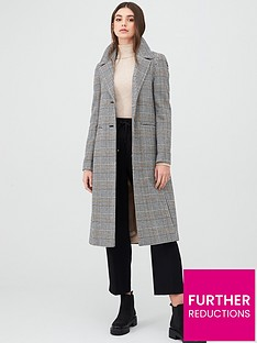 oasis-check-button-front-car-coat-multi-grey