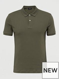 selected-homme-paris-polo-shirt-green