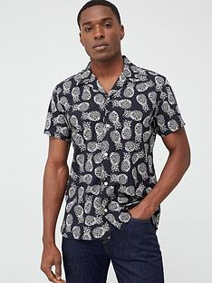 selected-selected-homme-printed-short-sleeve-shirt
