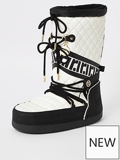 river-island-quilted-snow-boot-cream