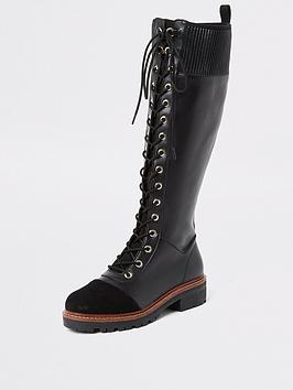 river-island-river-island-lace-up-knee-high-biker-boots-black