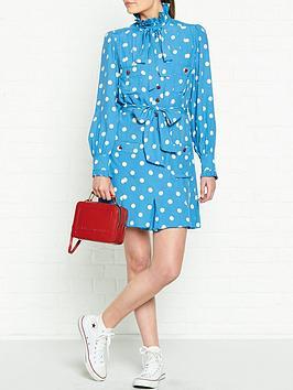 marc-jacobs-polka-dot-heart-button-dress-blue