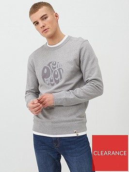 pretty-green-havlock-applique-logo-sweatshirt-light-grey-marl