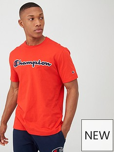 champion-logo-crew-neck-t-shirt-red