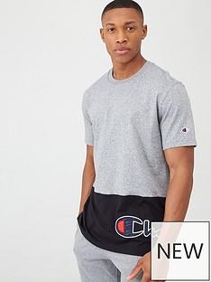champion-colourblock-crew-neck-t-shirt-greyblack