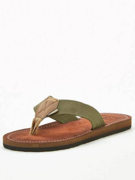 barbour-toeman-beach-sandals-olive